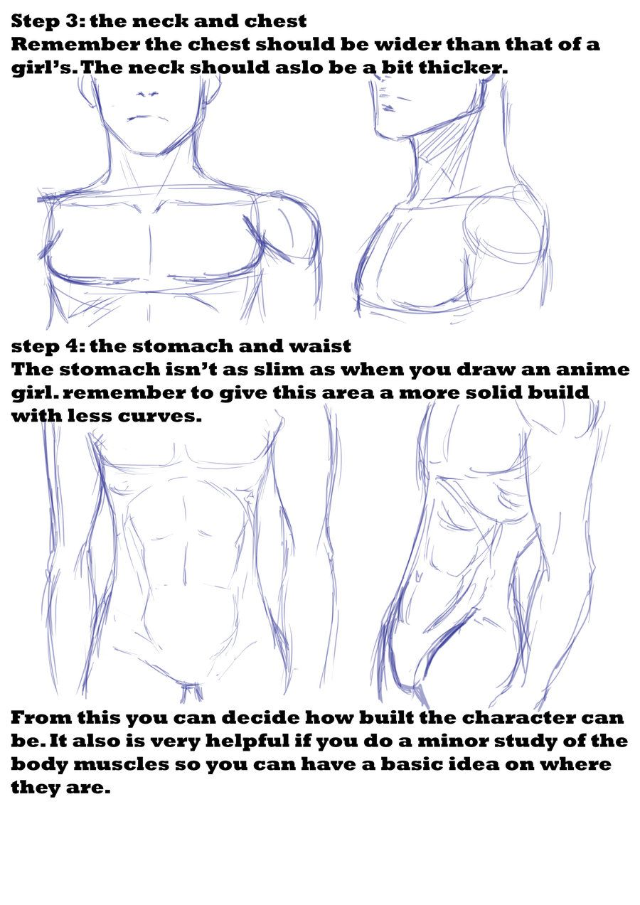 Anime Sketch Drawings Bodys