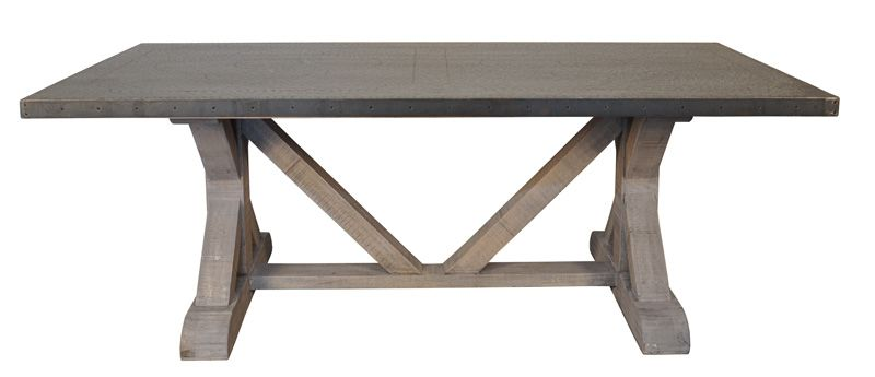Awesome Epic Zinc Dining Room Table 36 For Your Home Designing Inspiration  With Zinc Dining Room