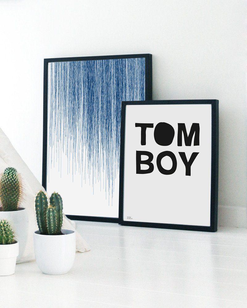 Blue Rain Tomboy Room Ideas Tomboy Bedroom Art Shop