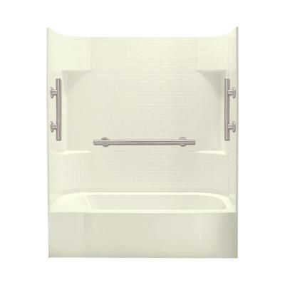 Sterling Accord 30 In X 60 In X 72 In Bath And Shower Kit Right