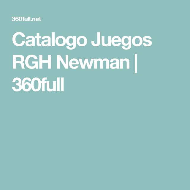Catalogo Juegos RGH Newman   360full