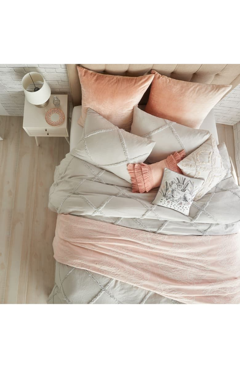 Free Shipping And Returns On Peri Home Chenille Lattice Comforter
