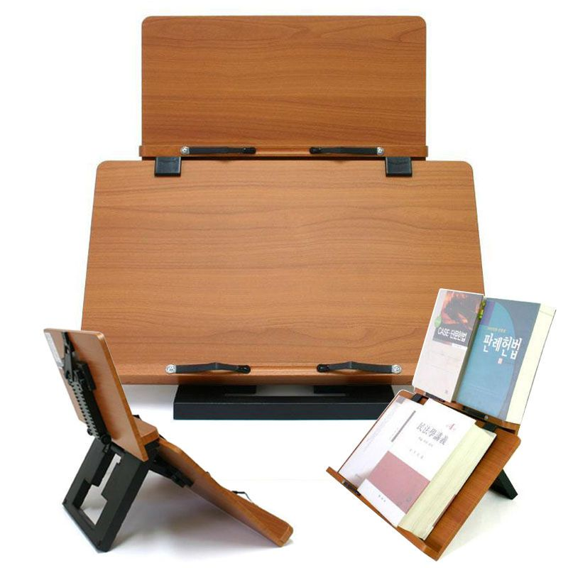 Freesia Plus Book Stand Portable Wooden Reading Holder Desk Bookstand Cookbook Wiztem Wooden Book Stand Book Stands Desk
