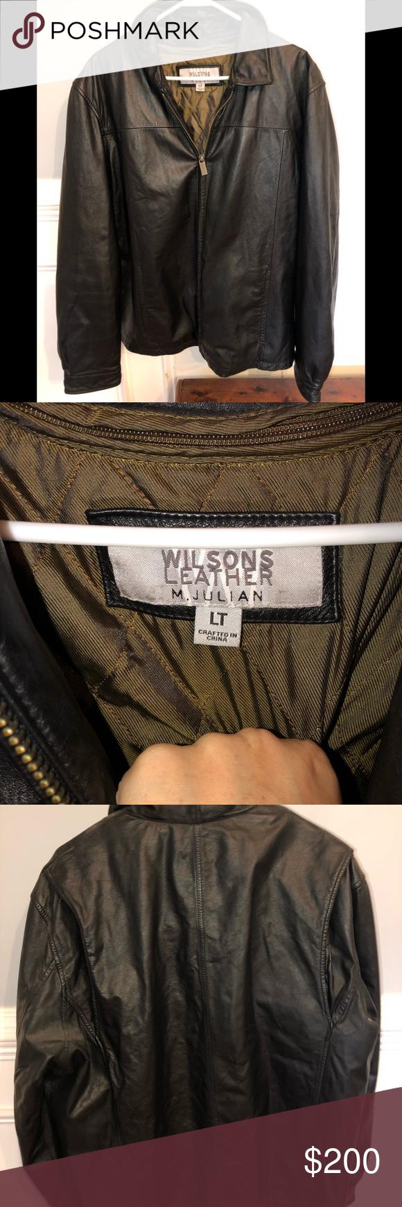 Wilson's leather M. Julian Jacket size large Jackets