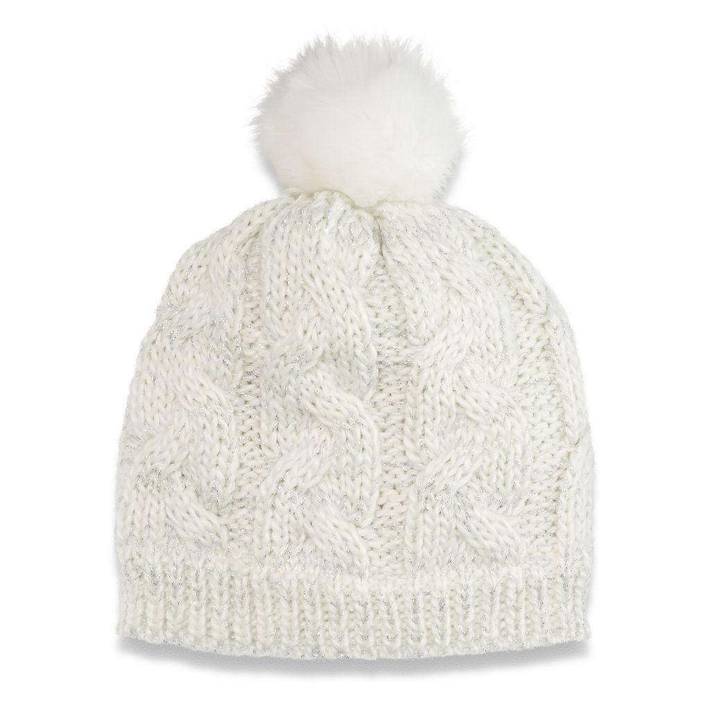 e2403fa8e637 Women s SONOMA Goods for Life™ Lurex Pom Pom Hat