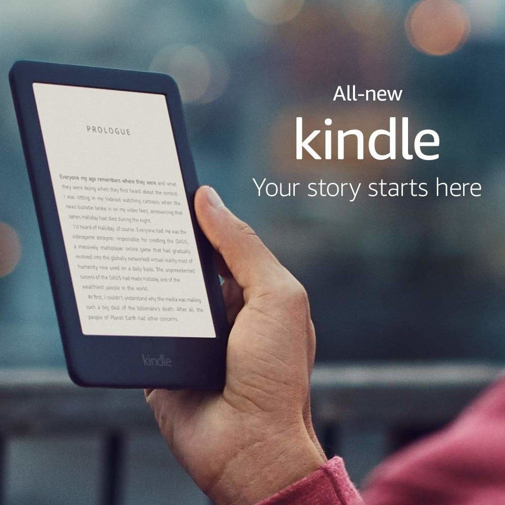 The New Version Of The Original Basic Kindle For 33 Off With A Built In Light That Ll Make It Possible To Indulge In Your Favor Kindle Book Reader Best Kindle Can i read my pdf on kindle