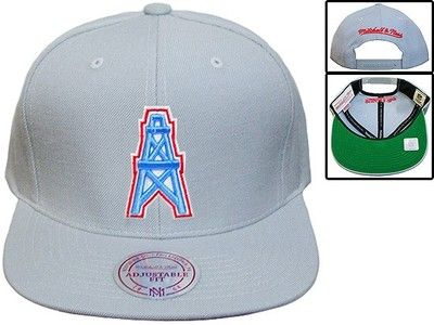 d6f8a3d32 Houston Oilers Hat Snapback Mitchell Ness Limited Edition Release ...