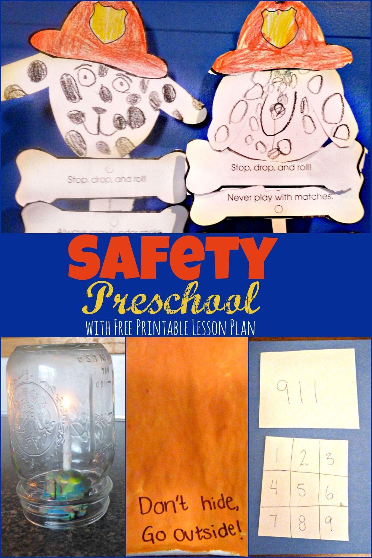 Safety Preschool Week Fire safety preschool, Safety