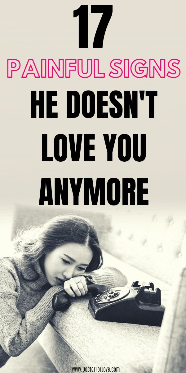 17 Signs He Doesnt Love You Anymore   Does he love me