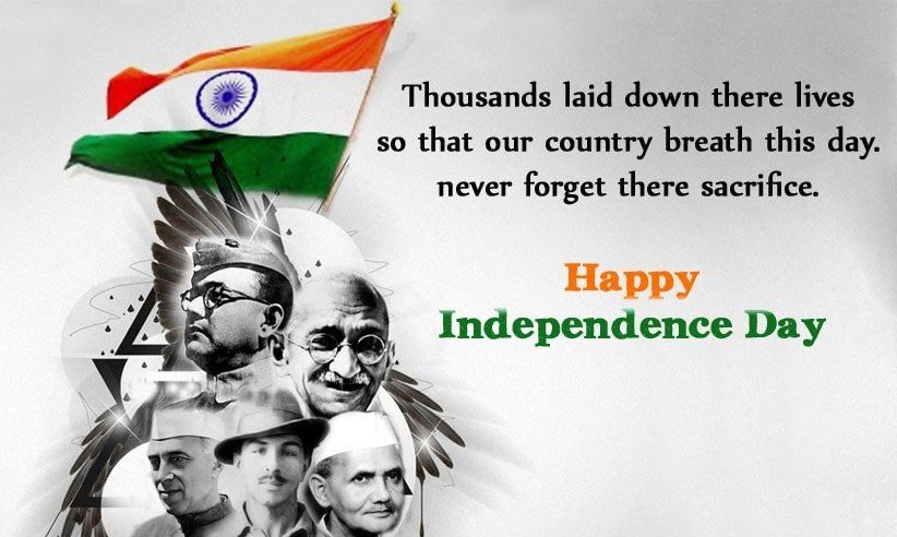 Independence Day Freedom Fighter Wishes Independence Day Wishes