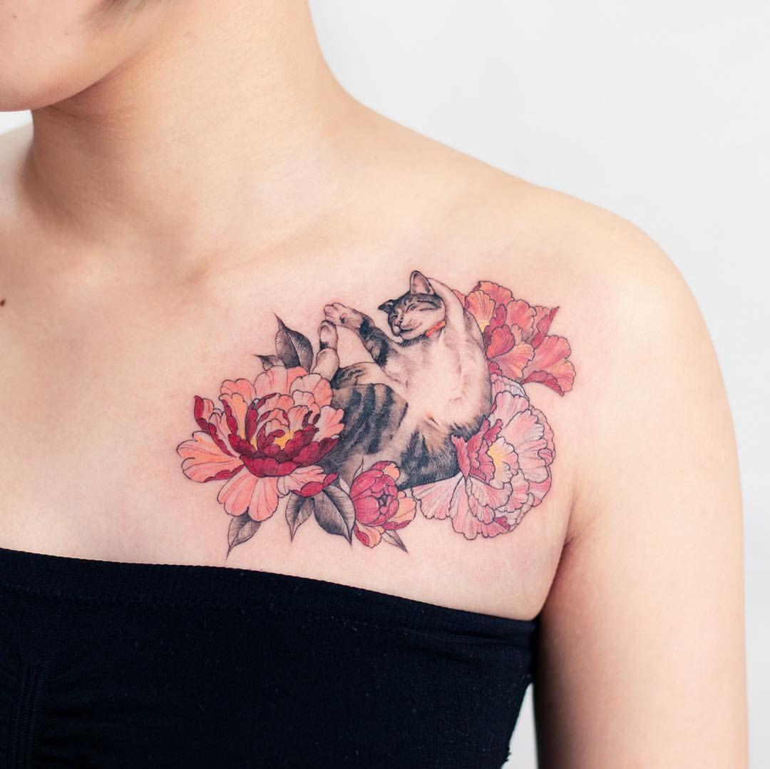 刺青 薔薇