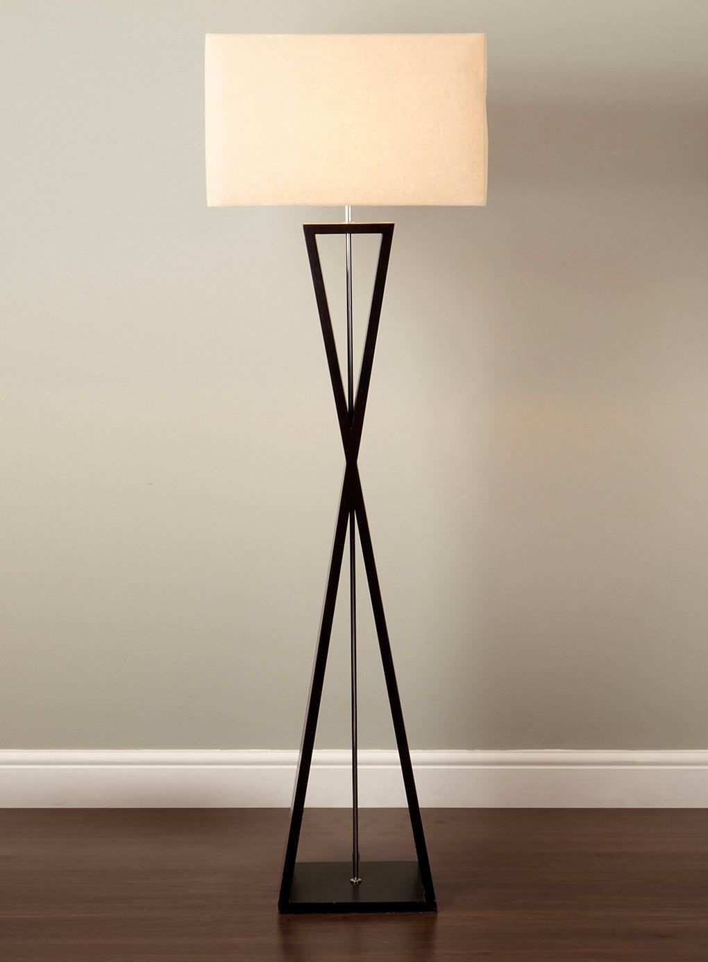 Floor lamps home lighting furniture bhs floor lamps pinterest modern turned wood for Modern lamps for living room