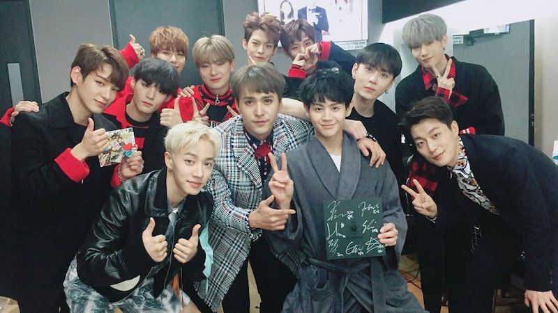 Victon Members Are The Most Nervous And Relatable Fanboys As They Meet Their Idols Highlight Backstage Soompi Victon Highlights Relatable