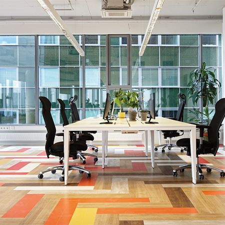 Luxury Vinyl Tiles For Toggl Head Office Office Design Inspiration
