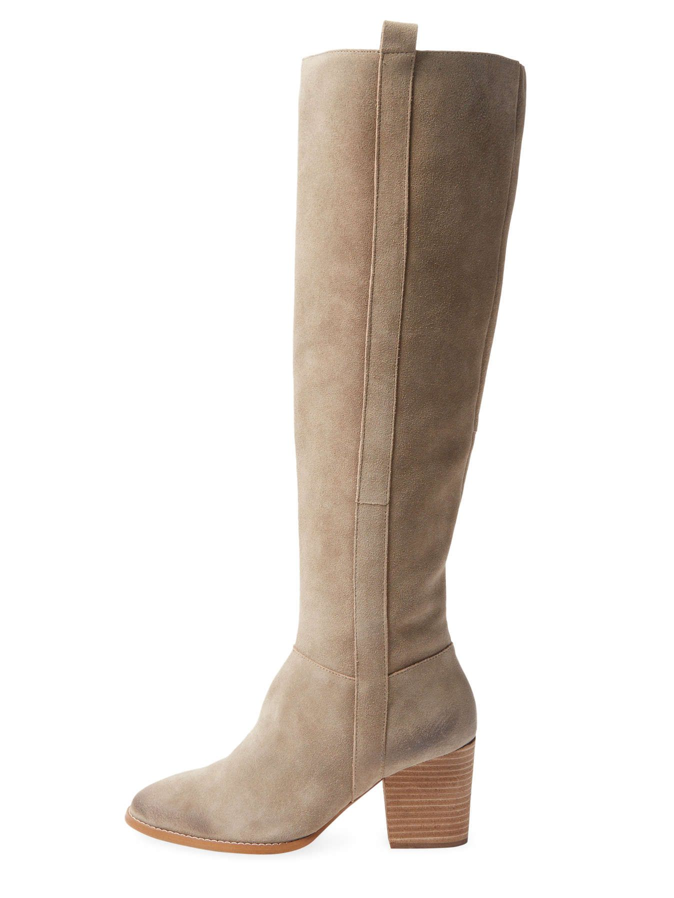 Wiley Tall Suede Boot by Atwell at Gilt