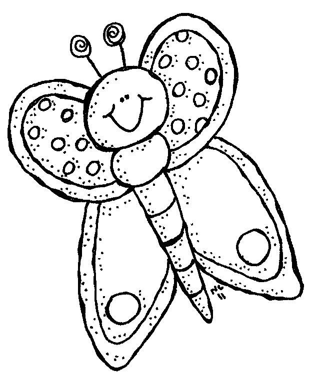 Bugs Butterfly Clip Art Cool Coloring Pages Butterfly Black And White