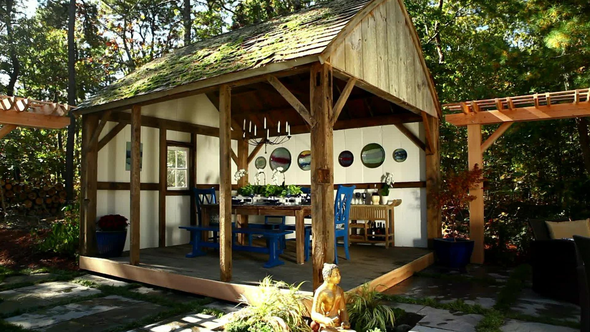decorative backyard open shed google search backyard landscape