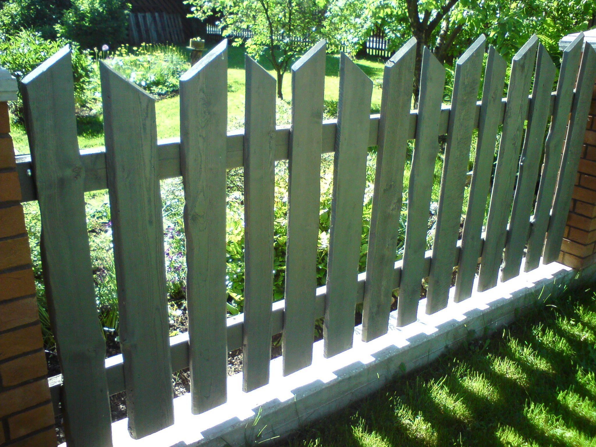 Servamata Lauast Puitaed Wooden Fences Puitaiad
