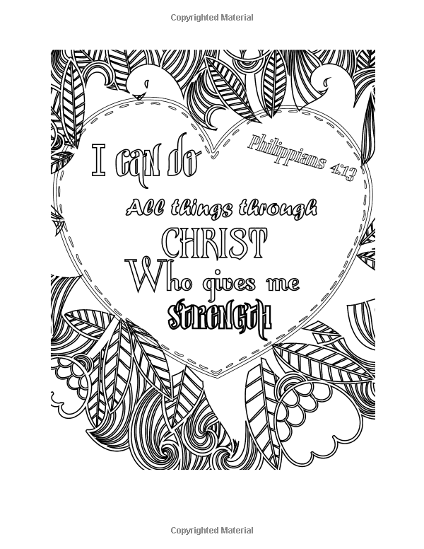 amazoncom color your blessings a christian coloring book for relaxation inspiration
