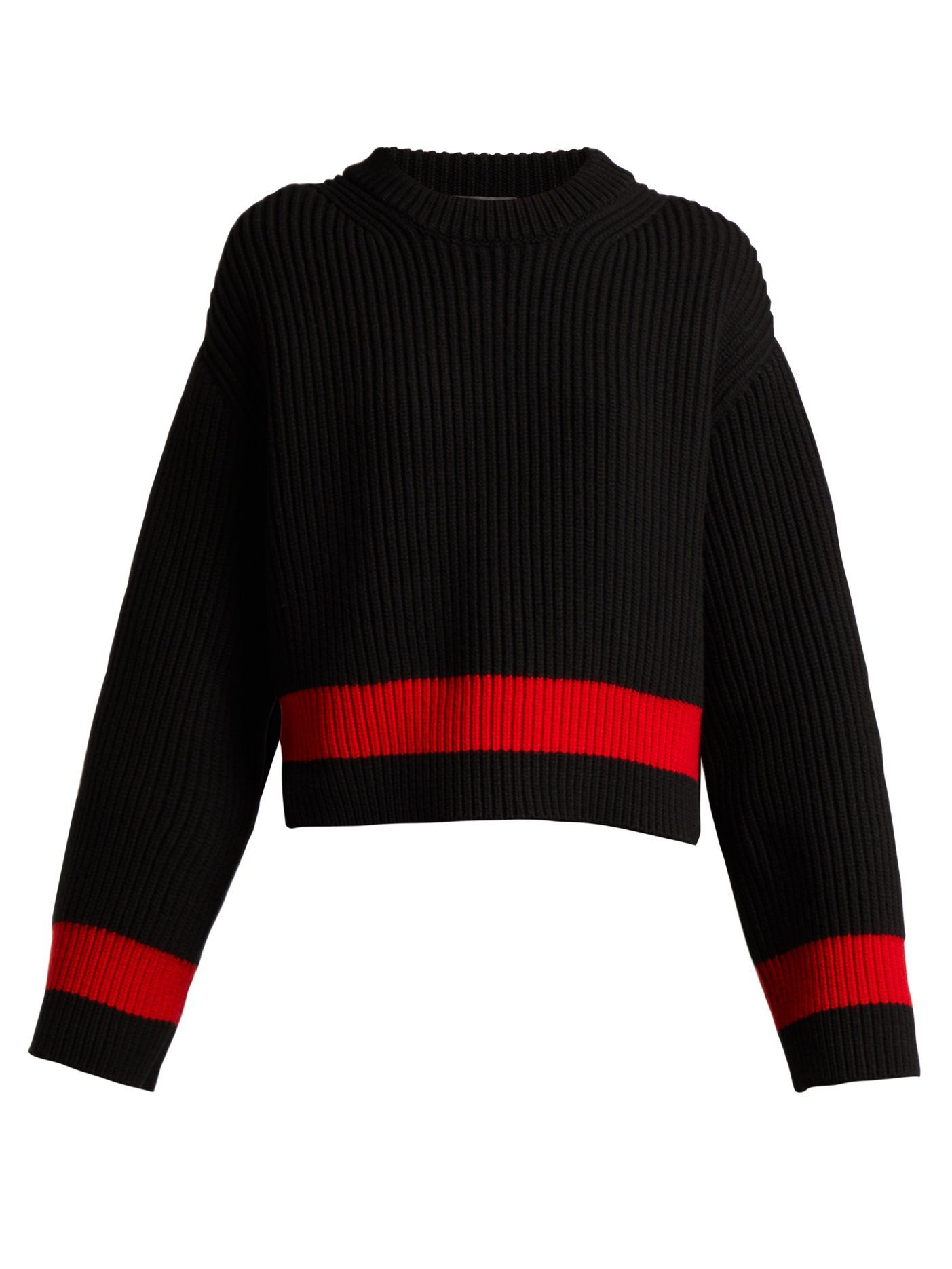 3457cc1b5e Wool and cashmere-blend striped sweater