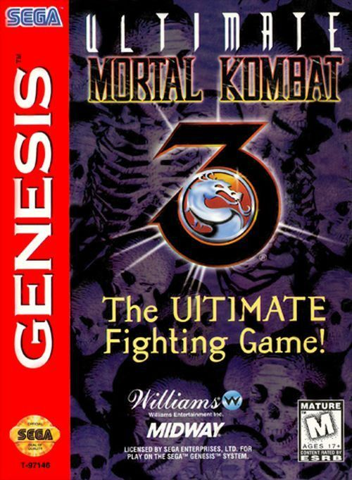 Ultimate Mortal Kombat 3 Sega Genesis 1996 My Childhood Was