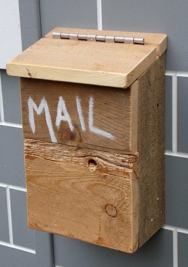 bo te aux lettres originale de la cr ativit et du diy recup pinterest maison bricolage. Black Bedroom Furniture Sets. Home Design Ideas