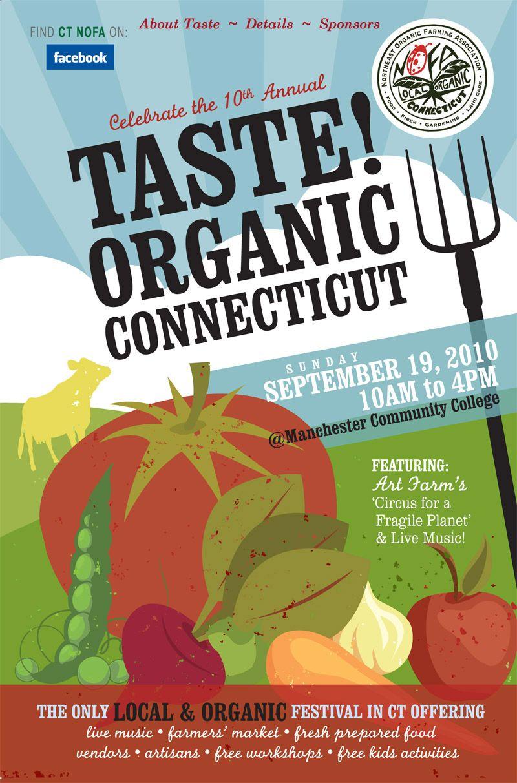 Taste Postcard10 Connecticut Organic Tasting