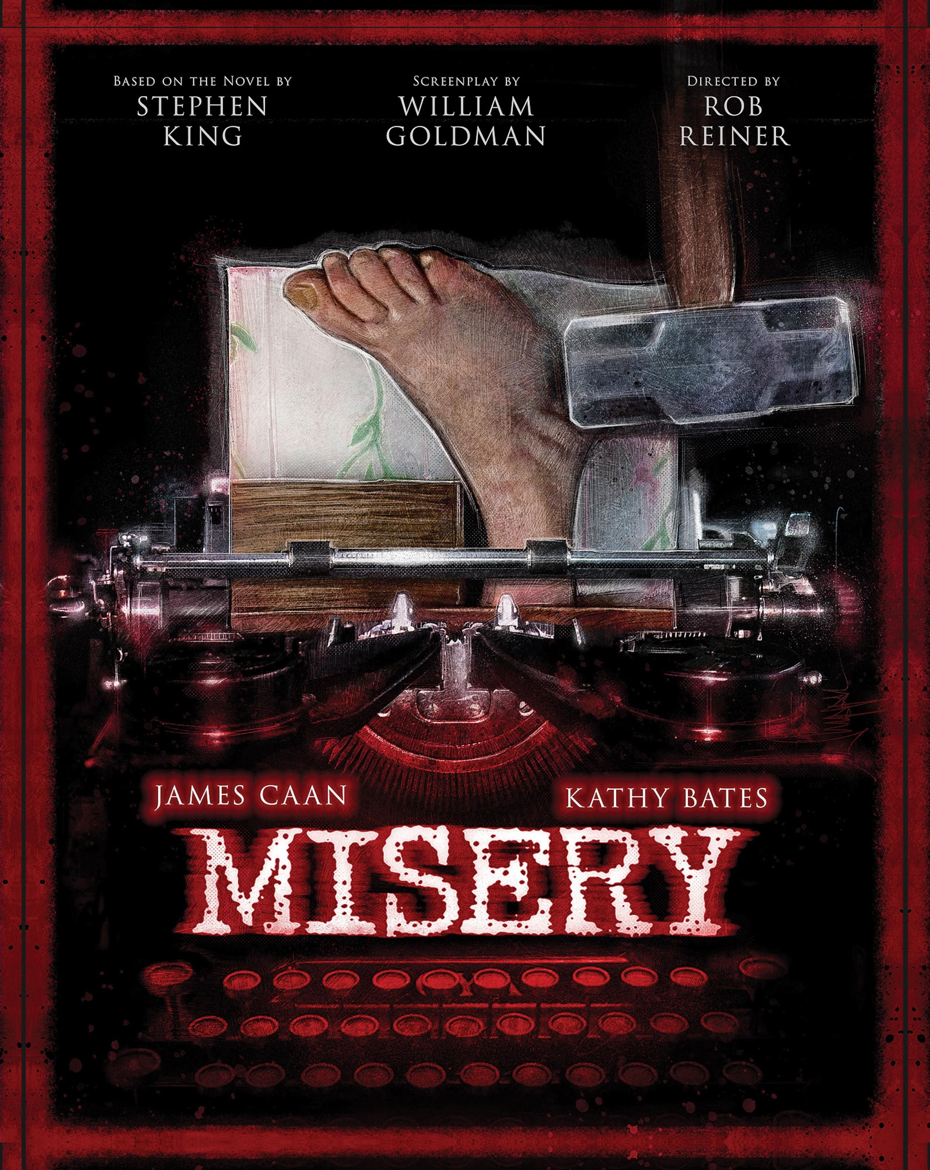 Misery 1990 3255 4096 By Paul Shipper Misery Movie Horror