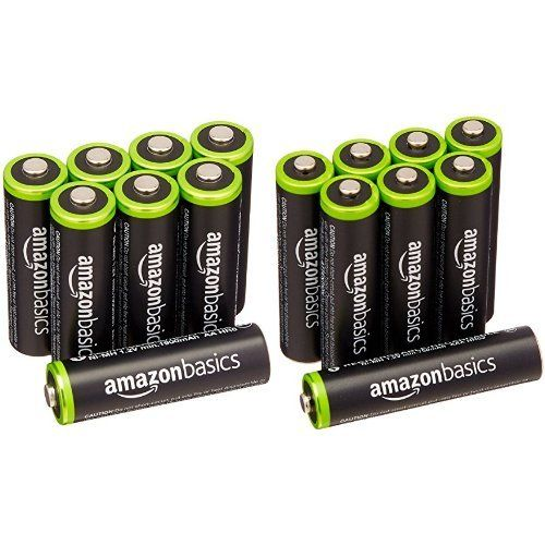 Amazonbasics Aa Aaa Rechargeable Batteries 8 Pack Pre Charged Bundle Packaging May Vary Rechargeable Batteries Batteries Aaa Batteries