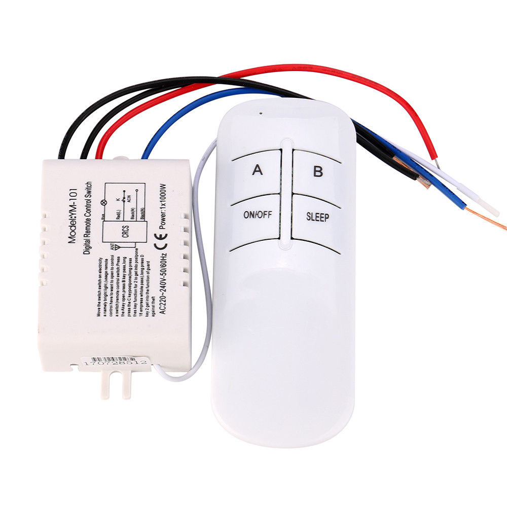 329 1 2 3 Way On Off 220v Wireless Receiver Lamp Light Rf About 3way Digital Remote Control Switch