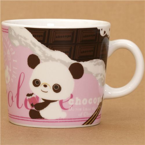 Chocopa Bear With Chocolate Cup By San X From Japan Gifts