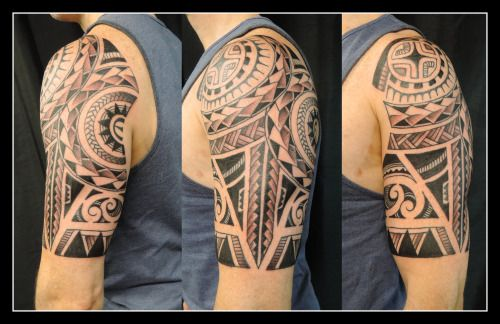 Polynesian Shoulder Piece By Alex Hennerley At Adorned