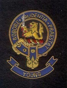 Young clan crest badge | Clans crest | Scottish clans, Badge