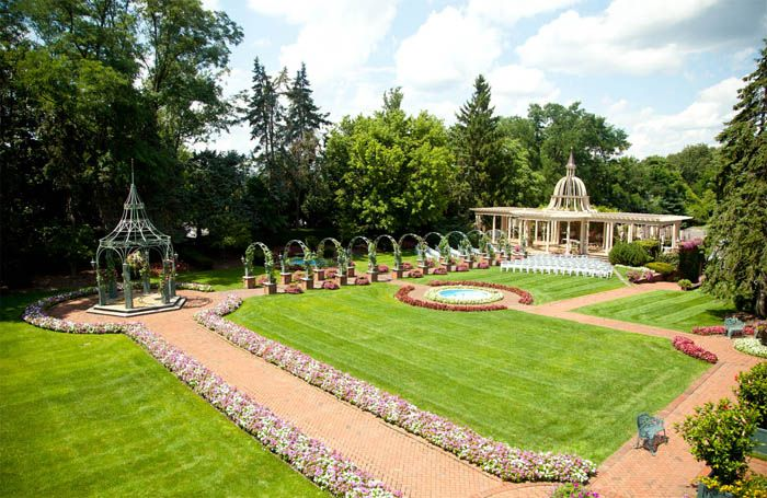 The Manor, West Orange. Garden Wedding Venues NJ | Outdoor ...