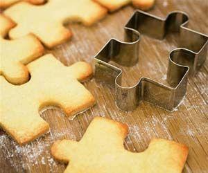 Rompecabezas de galleta...cómo no se le había ocurrido a nadie!!!