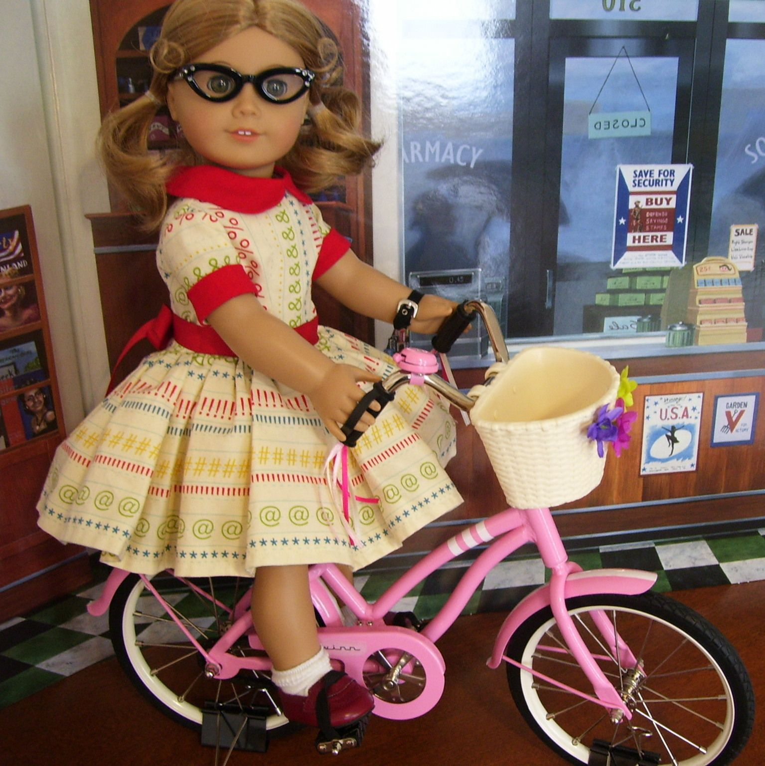 Our Generation Doll Bike From Target Slightly Modified Makes A
