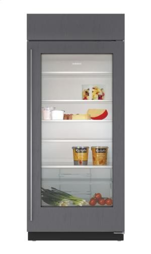 "BI36RGOLH in by Sub-Zero in Norwich, CT - 36"" Built-In Glass Door Refrigerator - Panel Ready"