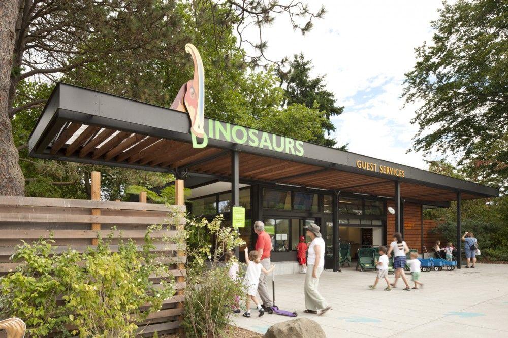 Woodland Park Zoo New West Entry Weinstein A U Woodland Park Woodland Park Zoo Zoo Architecture