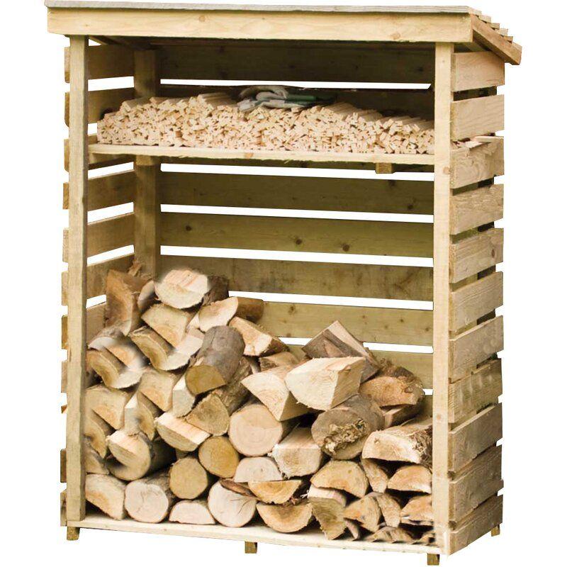 4 Ft X 2 Ft Wood Log Store Outdoor Firewood Rack Wood Storage Box Wood Storage