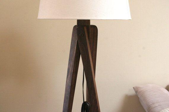 Tripod floor lamp walnut black walnut 185 ambiance tripod floor lamp walnut black walnut 185 mozeypictures Image collections