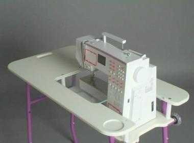 Nähmaschinentisch sewezi nähmaschinen tisch grundmodell haustips