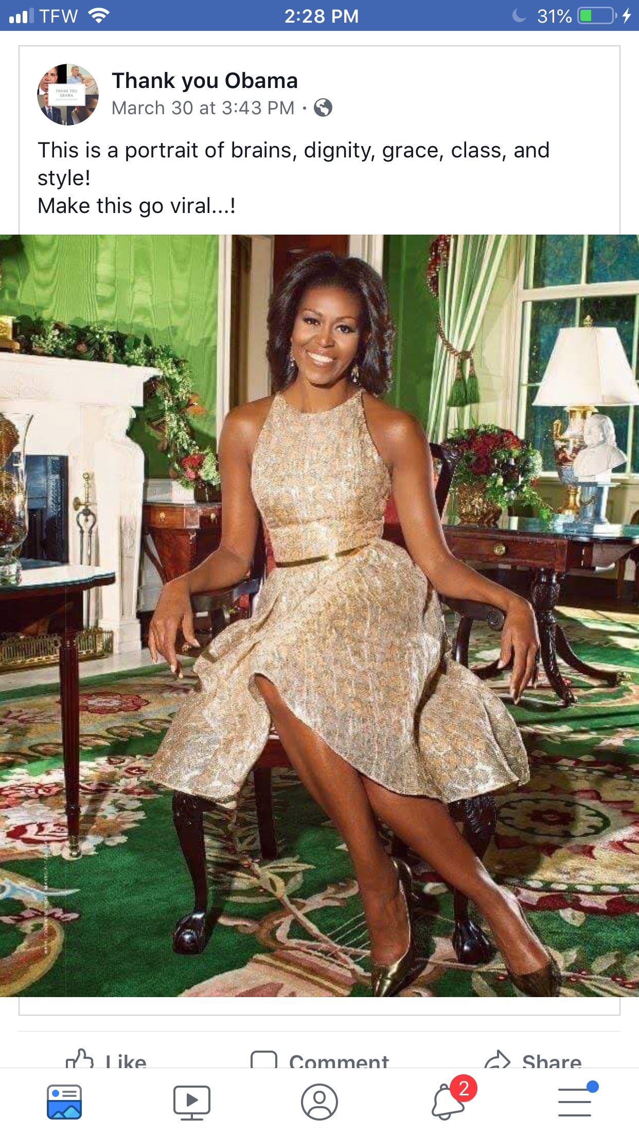 Michelle Obamas Grammys Text Message Chat With Her Mom Is