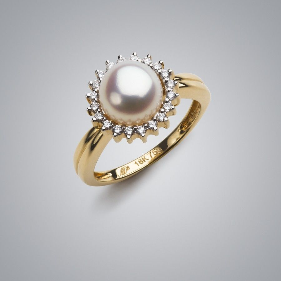 Find This Pin And More On For The Wedding Day Sunburst Pearl Ring