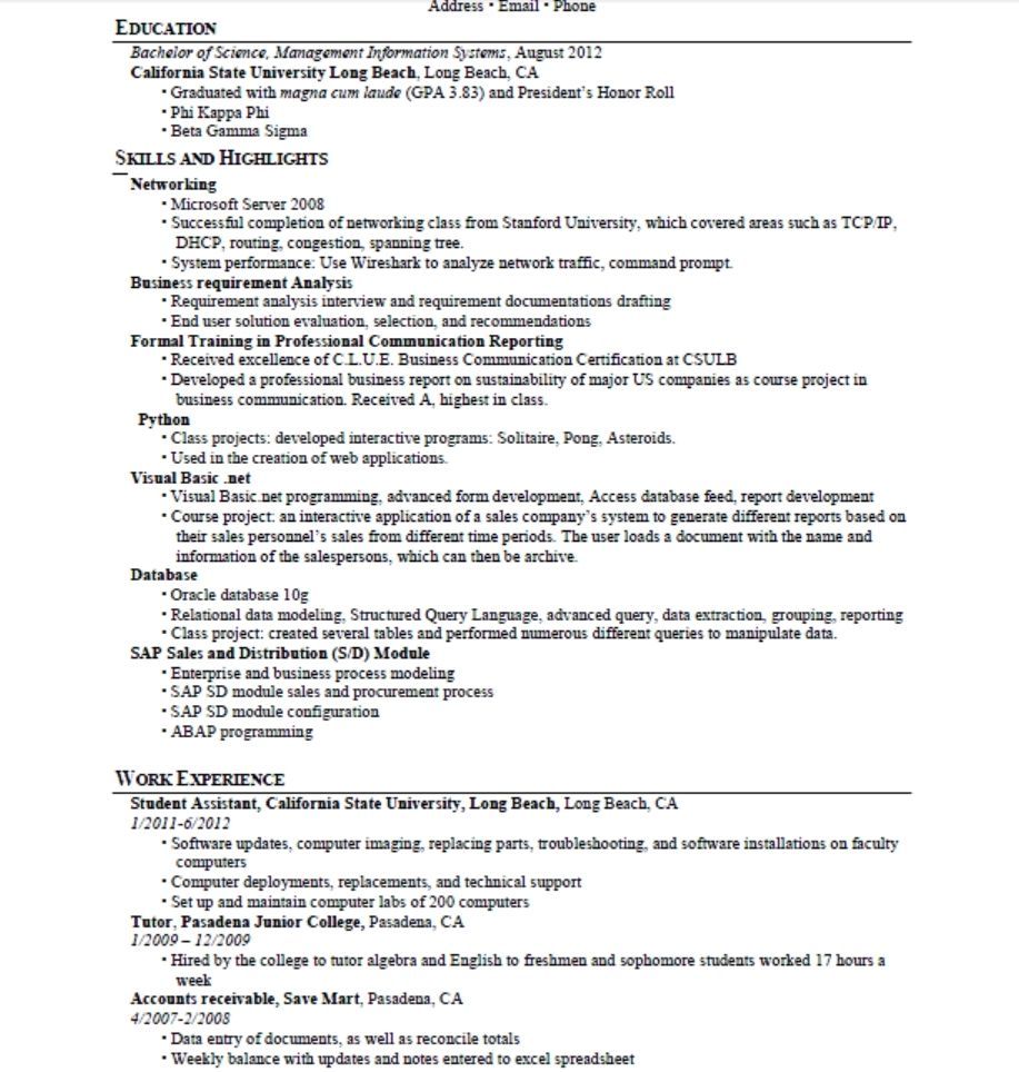 Great Looking Resume Examples Resumes Musician Sample Wonderful