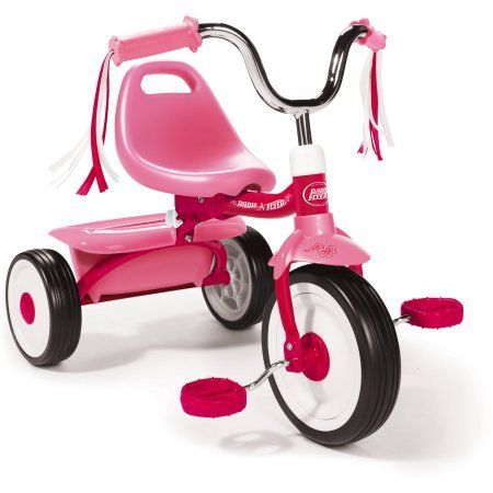 Radio Flyer Ready To Ride Folding Tricycle Pink Trikes For