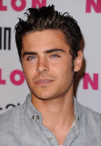 Zac Efron Hairstyle Unique Zac Efron Spiked Hair  Zac Efron Eye Candy And Attractive People