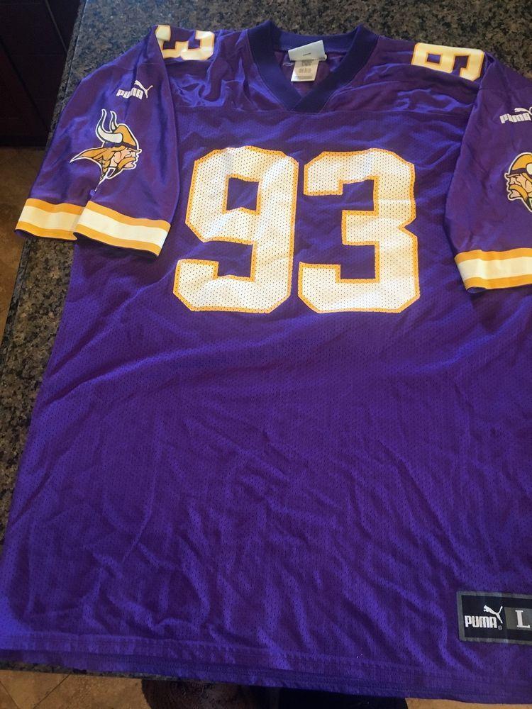 Vintage NFL Minnesota Vikings John Randle home jersey d552f532d