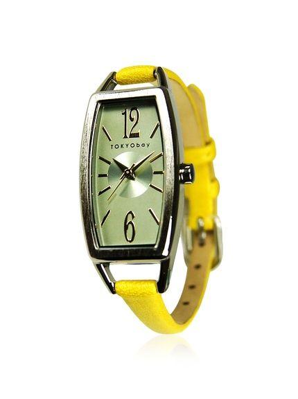 TOKYObay Women's T218-YEL Levere Yellow/Green Leather Watch, http://www.myhabit.com/redirect/ref=qd_sw_dp_pi_li?url=http%3A%2F%2Fwww.myhabit.com%2Fdp%2FB00B3XZHE2%3Frefcust%3DDOGQTHL4V53R2RWBUS5STF3O5M