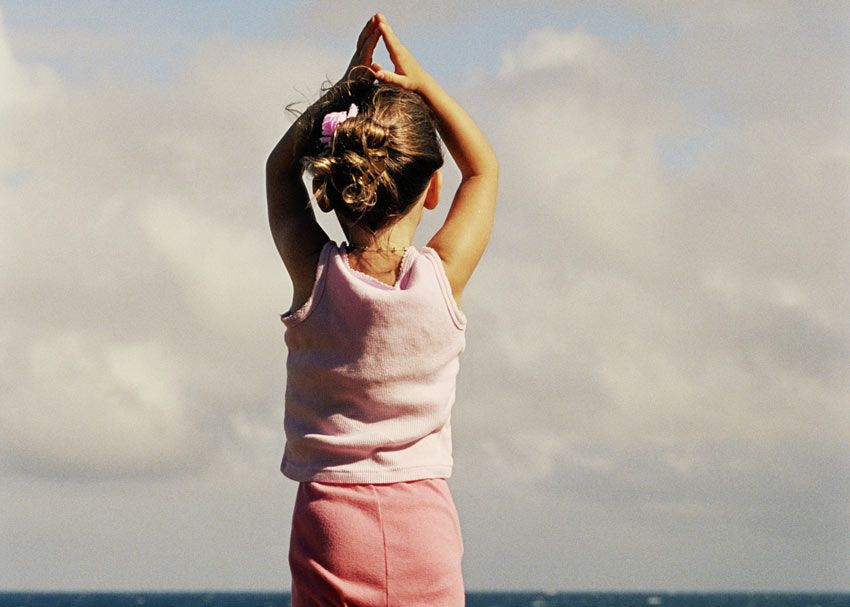 If you're curious about meditation, but aren't sure where to start, check out these easy at-home meditations for kids.