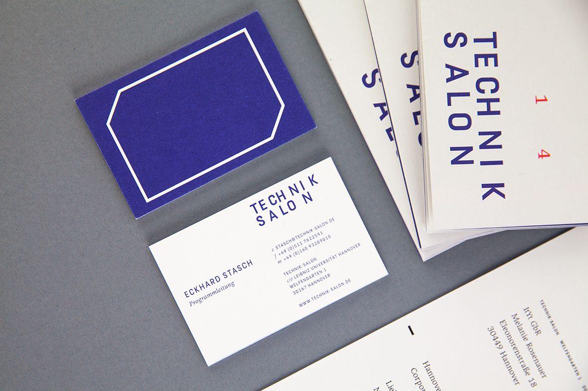 Technik Salon | Stationery